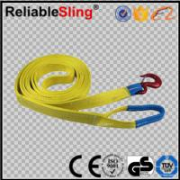 Safety Auto Heavy Duty Tow Straps , Retractable Vehicle Tow Straps Manufactures