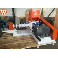 Buy cheap 500-600KG / H Floating Fish Feed Extruder Machine With Feeding Power 1.1KW from wholesalers