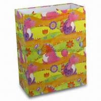 Wholesale Paper Gift Bag, Suitable for Packing Purposes, OEM Designs are Welcome from china suppliers
