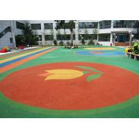 Fire Retardant Rubber Playground Tiles Custom Outdoor