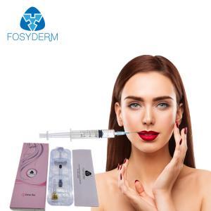 China Fosyderm 2ml Derm Line Dermal Filler Injection Hyaluronic Acid Syringe For Lip Enhancement on sale