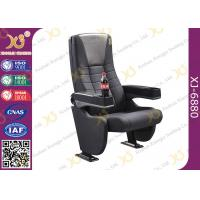 Wholesale Grey Longer Back Movie Chair Furniture / Cinema Theatre Seats from china suppliers