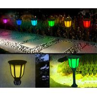 Buy cheap Solar Garden Lights Outdoor Green Power Ground Illumination Landscaping from wholesalers