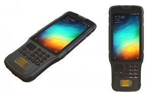 Wholesale Handheld Android Biometric Fingerprint Scanner Tablet PC Barcode Scanner from china suppliers