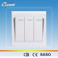Wholesale LK4005 white color rocker PC wall switch from china suppliers