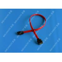Quality 7 Pin Internal Serial ATA Data Cable Male To Female SATA Extension Data Cable for sale