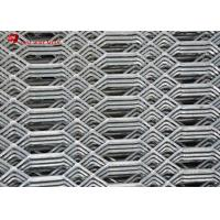 China Expanded Sheet Metal Mesh / Expanded Metal Grating 3.0 Mm Thickness on sale