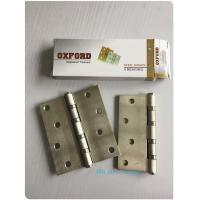 Wholesale Washer 4BB 2BB Residential Ball Bearing Door Hinges Golden Polished Steel from china suppliers