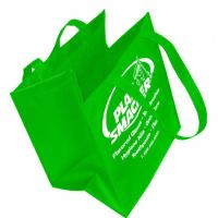 Buy cheap Foldable Non Woven Packaging Bags , Laminated Grocery Tote Bags Custom Printed from wholesalers