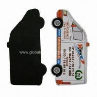 Wholesale Refrigerator magnet, made of paper or rubber, PMS colors are available from china suppliers