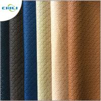 Wholesale Waterproof PVC Leather Fabric , PVC Synthetic Leather Chili Brand Reliable from china suppliers