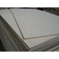 High strength birch faced marine commercial plywood e