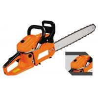 China Petrol / Gas Powed 52CC Manual Chainsaws Green Cut Chainsaw With Magnesium Alloy Crankcase on sale
