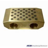 China self-lubricating sliding plate copper alloy,Bronze Graphite Slide Bearing Plate on sale