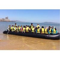 China Heavy Duty Hand Made Chemical Resistance Foldable Inflatable Boat For 20 Persons on sale