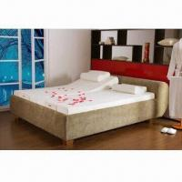 Double Massage Bed With Adjustable Bed Frame Of Item 96243167