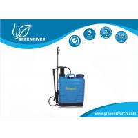 Wholesale Blue high pressure Backpack Weed Sprayers for Kitchen gardens from china suppliers