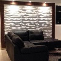Quality 3D Board Wallpaper with Wave Effect for sale
