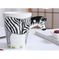 Wholesale Food Grade Three Dimensional 15 Oz Zebra Mugs from china suppliers