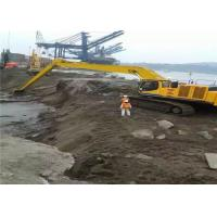 Quality Heavy Duty 16 Meter Excavator Boom Arm For Port Construction One Year Warranty for sale