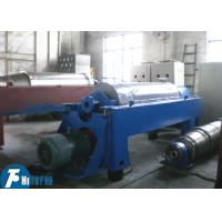 Wholesale Horizontal Spiral Discharge Industrial Decanter Centrifuge With Continuous Deposition from china suppliers