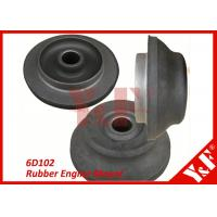Wholesale 6D102 Rubber with Metal Flexible Engine Mounts Excavator Replacement Parts from china suppliers