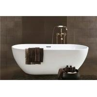 Wholesale Simple Modern Acrylic Massage Bathtub / Small Stand Alone Tub Excellent Heat Retention from china suppliers