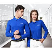 Wholesale Uniform Work Polo T Shirts Modern Fashion Design Unisex Garments Launderable from china suppliers