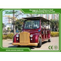 Wholesale Excar Red Electric Classic Cars With Trojan Battery ,CE Approved from china suppliers
