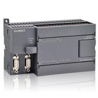Wholesale UniMAT Micro PLC Controller With Relay Compatible Siemens 224 CPU from china suppliers