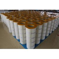 Wholesale Iron Cover Pleated Filter Cartridge Three - Lugs For Large Dust Concentration from china suppliers