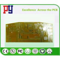 Wholesale Yellow Solder Mask FR4 PCB Board 2 Layer Rigid Double Side 1-4oz Copper Thickness from china suppliers
