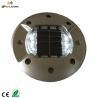 Buy cheap Round embedded solar road line marker,solar powered led aluminium cats eye from wholesalers