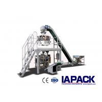 China Vertical Frozen Food Packing Machine With Multihead Weigher For Dumplings on sale