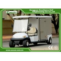 Wholesale EXCAR Electric Food Cart White 5KW Golf Beverage Cart With Steel Chassis from china suppliers