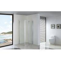 Foldable Bathroom Shower Enclosures Installed with Fixed Side Panel