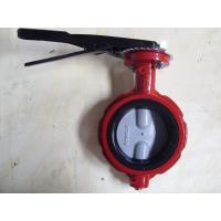 Wholesale ISO & CE certificate Industrial U.S.A Butterfly Valve with EPDM / NBR liner from china suppliers
