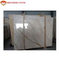 Wholesale High Polished Sofitel Gold Beige Marble Slab 15mm Thick For Wall Panel Paving Floors from china suppliers