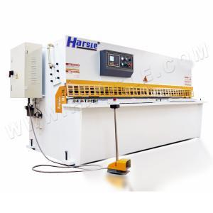 Wholesale plate steel hydraulic shearing machine,10x2500mm NC steel pendulum cutting machine from china suppliers