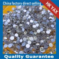 China super shiny best quality crystal stones,crytal stones non hot fix, non hot fix stones for garment hat on sale