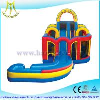 Wholesale Hansel 2017 hot selling commercial PVC outdoor inflatable water slides for rent slide from china suppliers