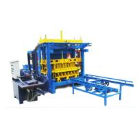 Buy cheap 28.25KW QT6-15A Semi-automatic Baking-free Cement Brick Machine from wholesalers