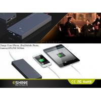 Buy cheap tablet ipad Portable Solar Mobile Phone external Charger Solar energy Black from wholesalers