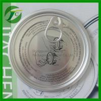 Wholesale printing aluminum easy open end for bottle from china suppliers