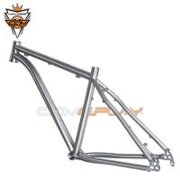 Wholesale Titanium Hardtail 29er Mountain Bike Frame Dropout Thru Axle Hanger Post Mount Disc Brake from china suppliers