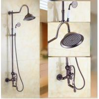Wholesale Traditional Wall Mount Waterfall Rain + Handheld Shower Faucet - T1808S from china suppliers