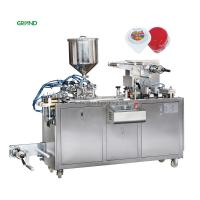 Wholesale 10-33 times / Min Blister Packing Machine Alu Plastic Tomato Sauce Packaging DPP 80 from china suppliers