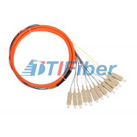 Wholesale Bundle Fiber Optic Pigtail for CATV Network with Multimode SC Connectors from china suppliers