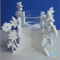 Quality CH (20) Acrylic taper candle holder for sale