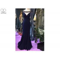 Wholesale Small Train Mermaid Style Prom Dress Sleeveless Sexy Top Hollow Out Bead Tassels from china suppliers